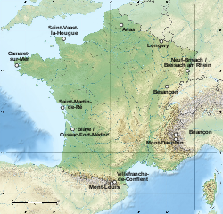 Carte des sites majeurs de Vauban.svg