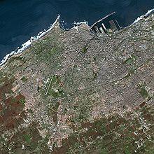 Image satellite de Casablanca (2006)