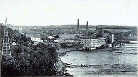 Compagnie de pâte et papier Brompton, East Angus