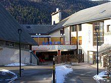 L'entrée du casino et du centre aquatique.