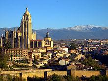 Panorámica de Segovia