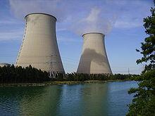 Une photographie de la centrale nucléaire de Nogent-sur-Seine, construite par Areva et opérée par EDF.