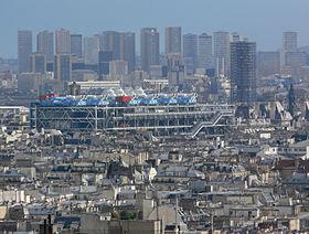 Centre Georges-Pompidou vu du Montmartre.jpg