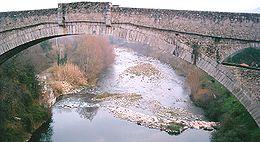 Le pont du Diable, à Céret.