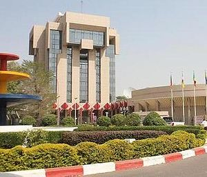 Chad,N'djamena bank centra