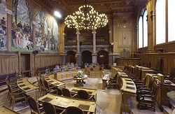 Photographie du lieu de réunion