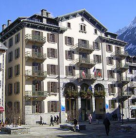 La mairie de Chamonix