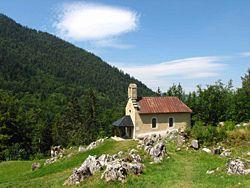 La chapelle de Valchevrière.
