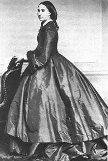 photographie de Charlotte impératrice du Mexique