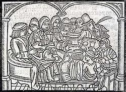 Une illustration de l'édition de Richard Pynson en 1492.