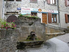 La source du Par et le musée