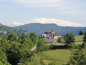 Chef-lieu de Puygros (vue Nord - Sud)