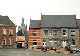 L'hôtel de Croÿ et l'église Saint-Martin