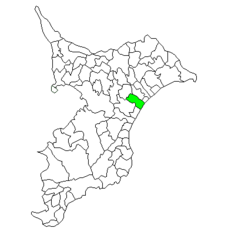 Location of Narutō