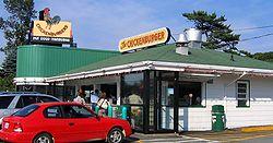 A restaurant-type diner in Bedford, Nova Scotia
