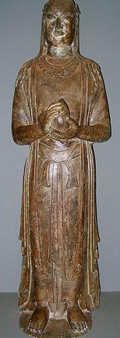 Chinese Boddhisattva statue.jpg