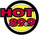 Hot 89.9 logo used since 2004.