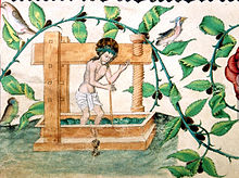 Christus in der Kelter ÖNB Mus Hs 15501 fol 86v.jpg