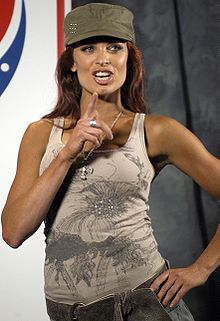 Christy Hemme, the 2004 Diva Search winner