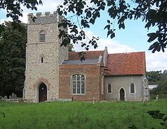 Church of St Mary, Akenham - geograph.org.uk - 548965.jpg