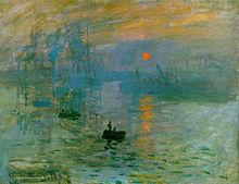 Impression, Sunrise (Impression, soleil levant) (1872/1873)