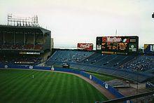 Cleveland Municipal Stadium, circa 1993