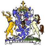 Arms of the former Cleveland County Council