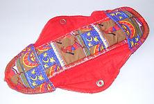 Cloth menstrual pad