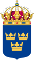 Coat of Arms of Sweden Lesser.svg