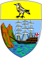 Coat of arms of Saint Helena.svg