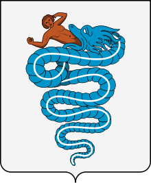 Coat of arms of the House of Visconti, used from 1277