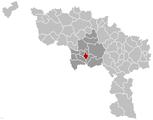Colfontaine Hainaut Belgium Map.png