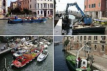 Alcuni esempi di imbarcazioni da lavoro veneziane
