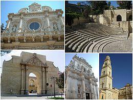 Lecce – Veduta