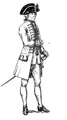 Un commissaire général en 1776