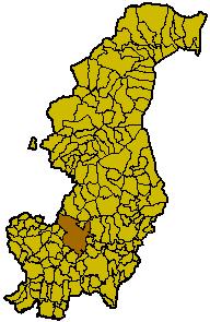 Locatie van Como in Como
