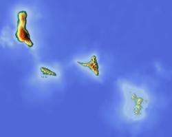 (Voir situation sur carte: Comores (relief))