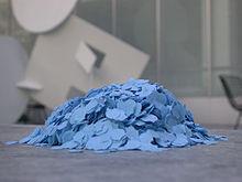 Confetti lors d'un évènement artistique