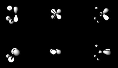 Molecular orbital scheme, illustrating the linear combination of P–R σ* and P 3d orbitals to form PR3 π acceptor orbitals