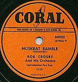 Coral Record label by Bob Crosby Band
