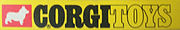 The Corgi Toys logo seen from 1968 until 1977.