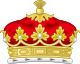 Coronet of a British Duke.svg