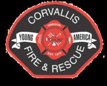 Corvallis Fire & Rescue logo.png