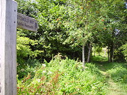 Cotswold Way at Battle of Lansdown.JPG