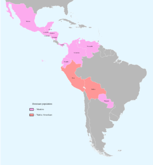 Countries with dominant Mestizo and Native American population.png