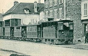 Rame vapeur à Ballainvilliers