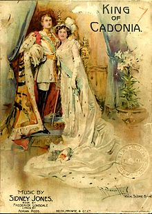 Cover of the Vocal Score of Sidney Jones' King of Cadonia.jpg