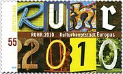 Description de l'image  DPAG 2010 02 Kulturhauptstadt Ruhr.jpg.