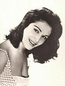 Promotional picture of Dalida taken in 1954.