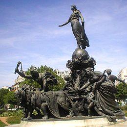 Le Triomphe de la Républiquede Jules Dalou